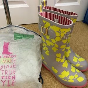 Joules short Wellies size 5